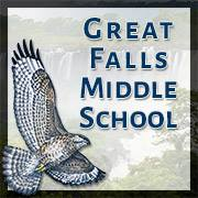 Great Falls Middle School logo